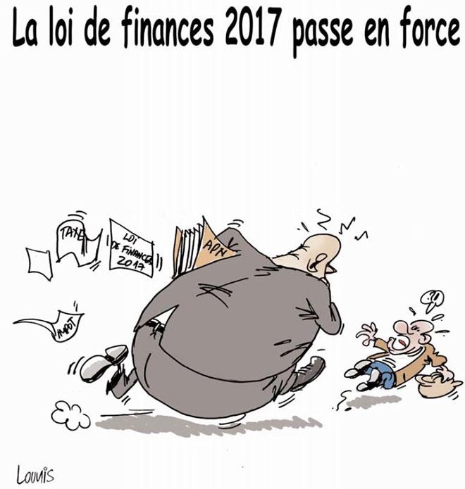 La loi de finances 2017 passe en force
