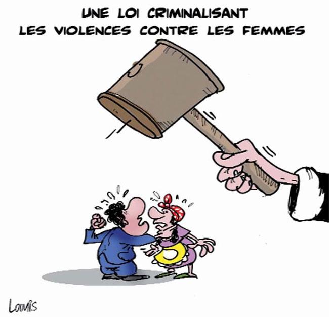 Une loi criminalisant les violences contre les femmes