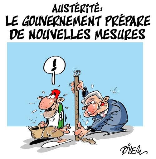 Austérité: Le gouvernement prépare de nouvelles mesures