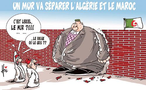 Un mur va séparer l'Algérie et le Maroc