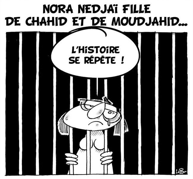 Nora Nedjaï fille de chahid et de moudjahid