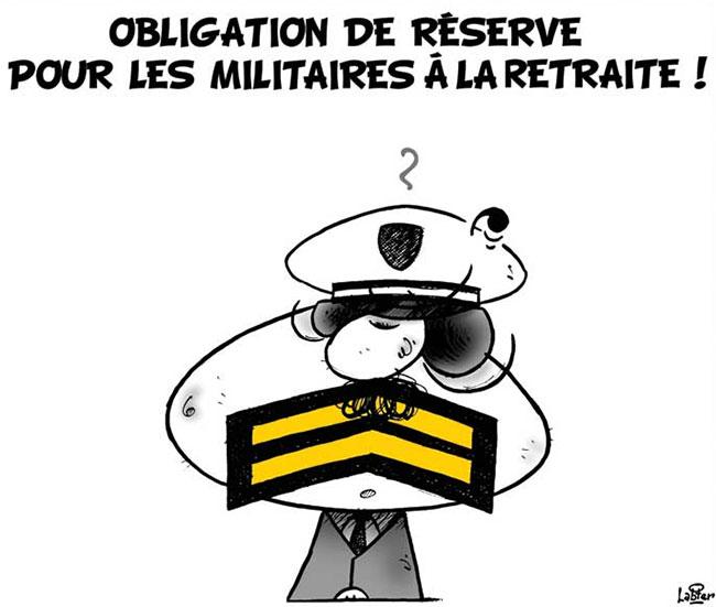 Obligation de réserve pour les militaires à la retraite