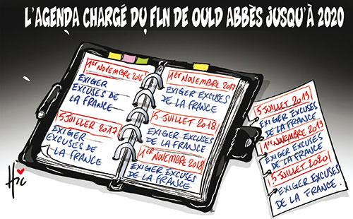 L'agenda chargé du FLN de Ould Abbès jusqu'à 2020