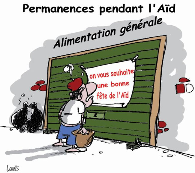 Permanences pendant l'aïd