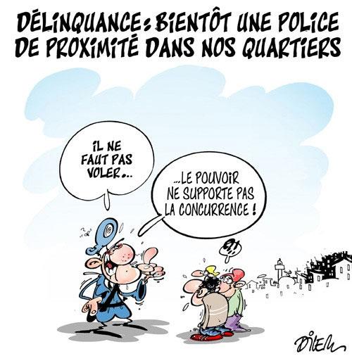 Délinquance: Bientôt une police de proximité dans nos quartiers