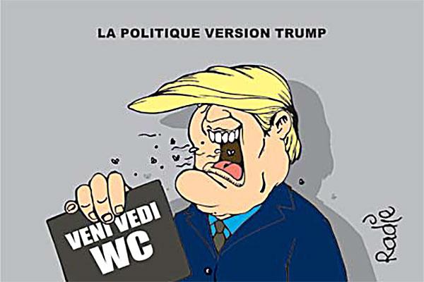 La politique version Trump
