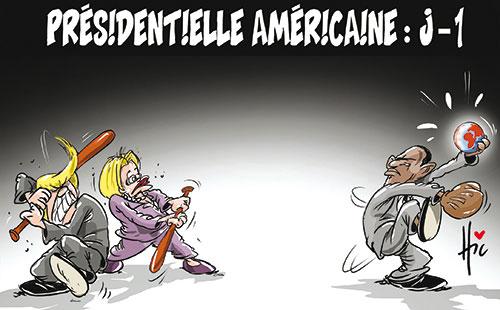 Présidentielle américaine: J - 1
