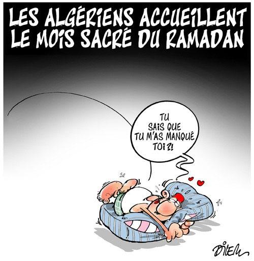 Les Algériens accueillent le mois sacré du ramadan