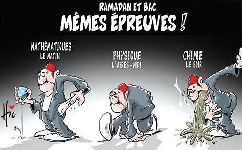 Ramadan et bac: Mêmes épreuves