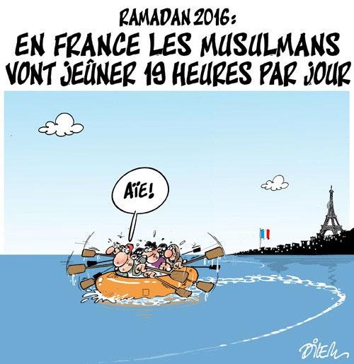 Ramadan 2016: En France les musulmans vont jeûner 19 heures par jour