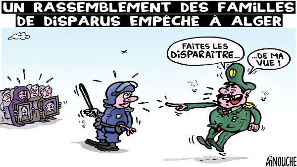 Un rassemblement des familles de disparus empêché à Alger