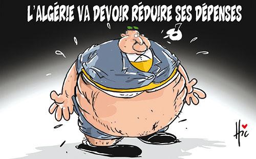 L'Algérie va devoir réduire ses dépenses