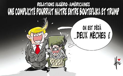 Relation algéro-américaines: Une complicité pourrait naitre entre Boutef et Trump