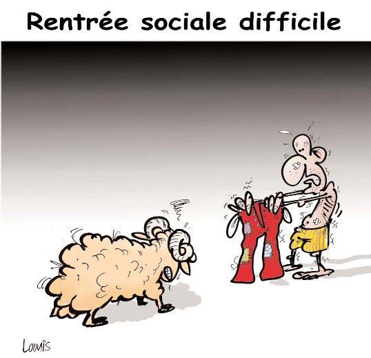 Rentrée sociale difficile