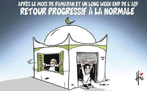 Après le mois de ramadan et un long week-end de l'aid: Retour progressif à la normale