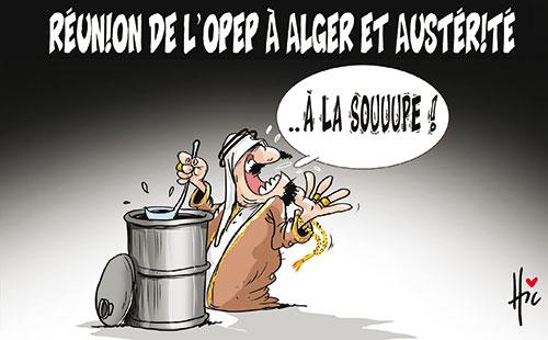 Réunion de l'opep à Alger et austérité