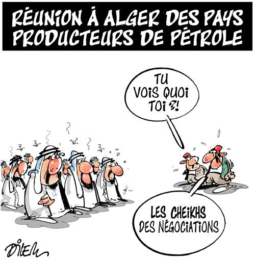 Réunion à Alger des pays producteurs de pétrole
