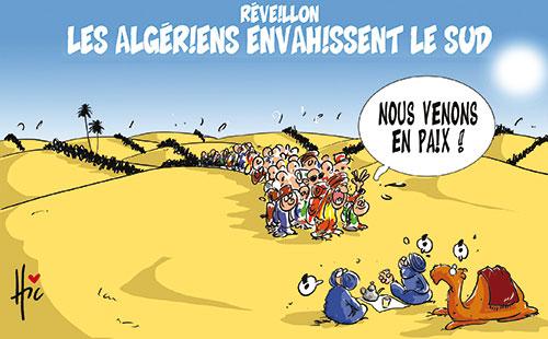 Réveillon: Les Algériens envahissent le sud