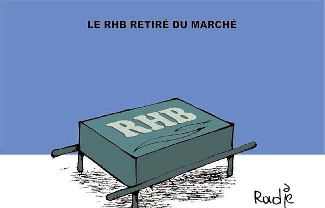 Le RHB retiré du marché