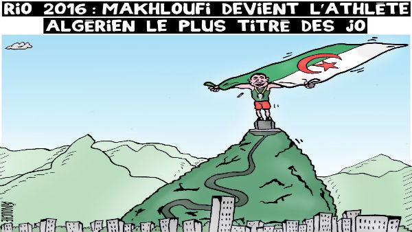 Rio 2016: Makhloufi devient l'athlète algérien le plus titré des JO