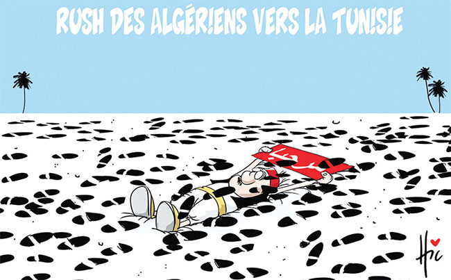 Rush des algériens vers la Tunisie