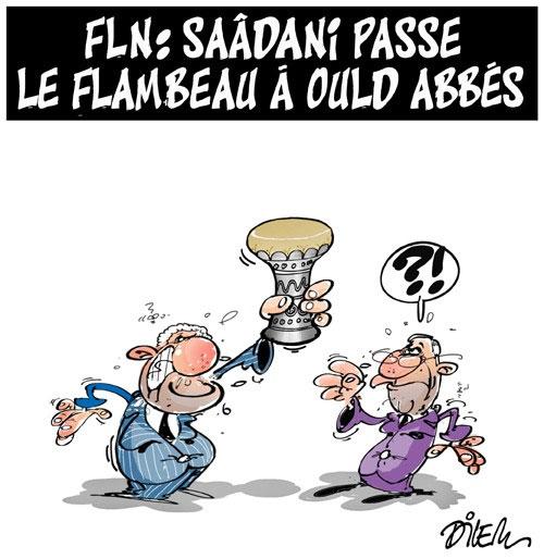 FLN: Saâdani passe le flambeau à Ould Abbés