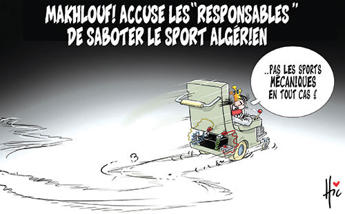 Makhloufi accuse les responsables de saboter le sport algérien