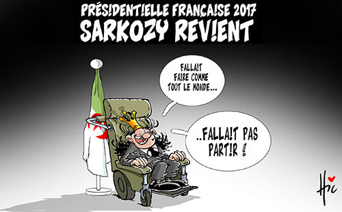 Présidentielle française 2017: Sarkozy revient