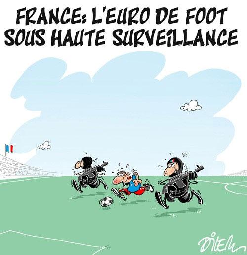 France: L'euro de foot sous haute surveillance