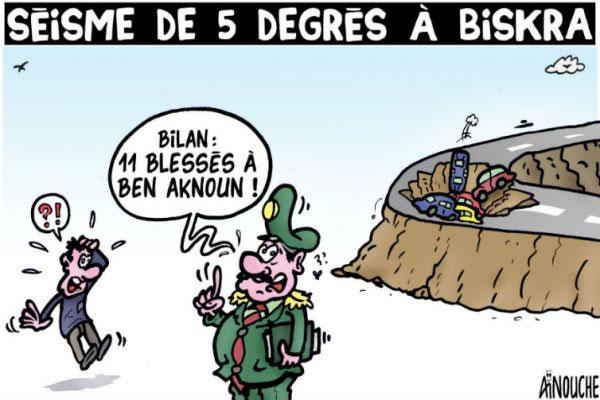Séisme de 5 degrés à Biskra