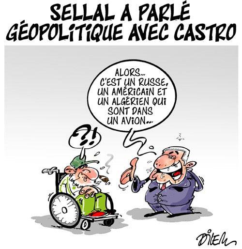 Sellal a parlé géopolitique avec Castro
