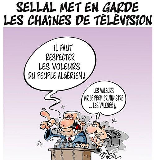 Sellal met en garde les chaînes de télévision