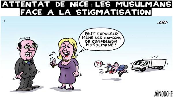 Attentat de Nice: Les musulmans face à la stigmatisation