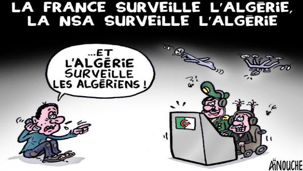 La France surveille l'Algérie