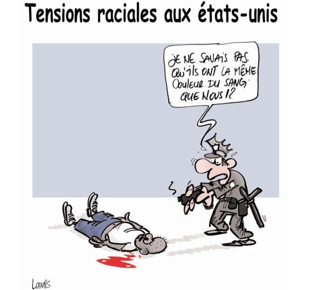 Tensions raciales aux Etats-Unis