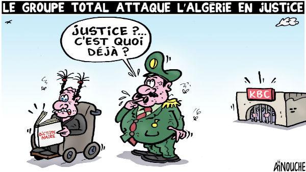 Le groupe Total attaque l'Algérie en justice
