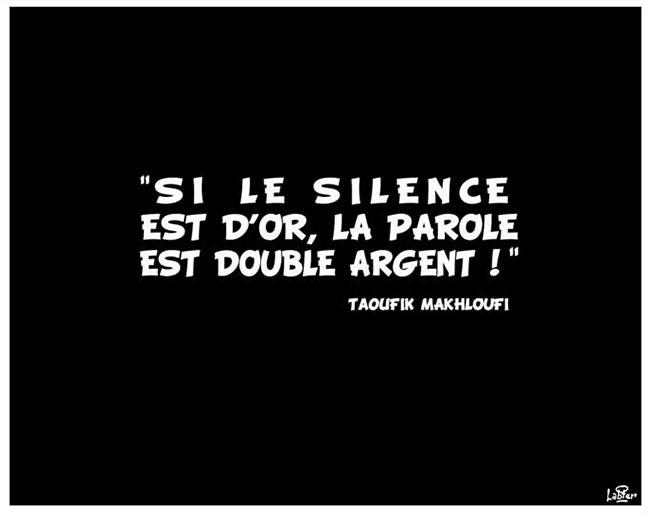 Si le silence est d'or