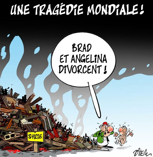 Une tragédie mondiale