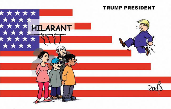 Trump président