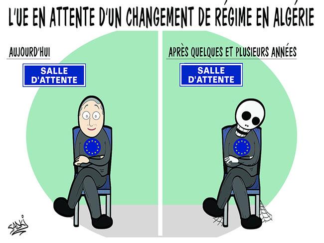 L'UE en attente d'un changement de régime en Algérie