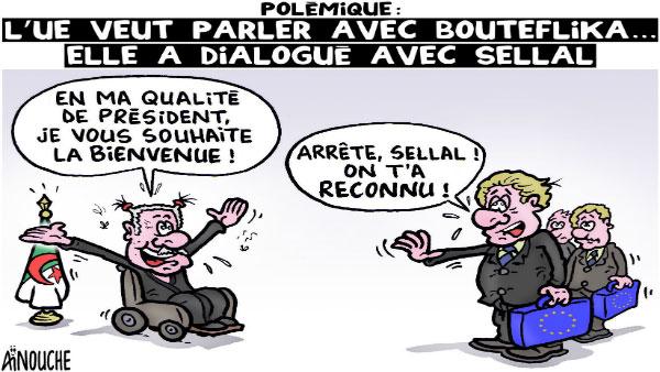 Polémique: L'UE veut parler avec Bouteflika... Elle a dialogué avec Sellal