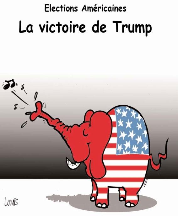 Elections américaines: La victoire de Trump