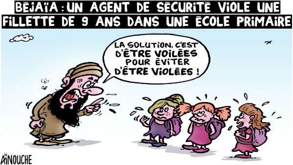 Béjaïa: Un agent de sécurité viole une fillette de 9 ans dans une école primaire
