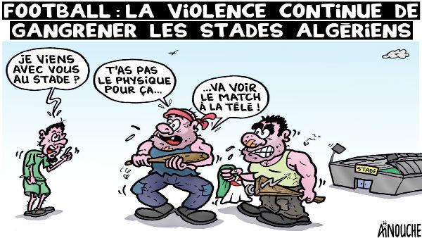 Football: La violence continue de gangrener les stades algériens