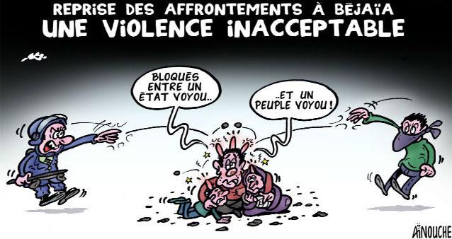 Reprise des affrontements à Béjaïa: Une violence inacceptable