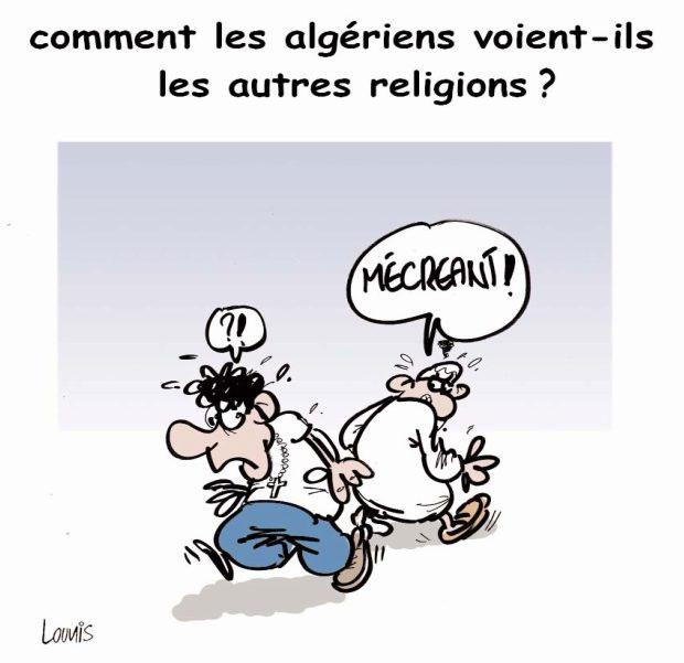 Comment les algériens voient-ils les autres religions ?