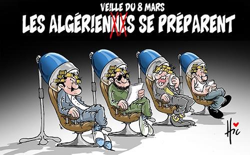 Veille du 8 mars: Les Algériennes se préparent