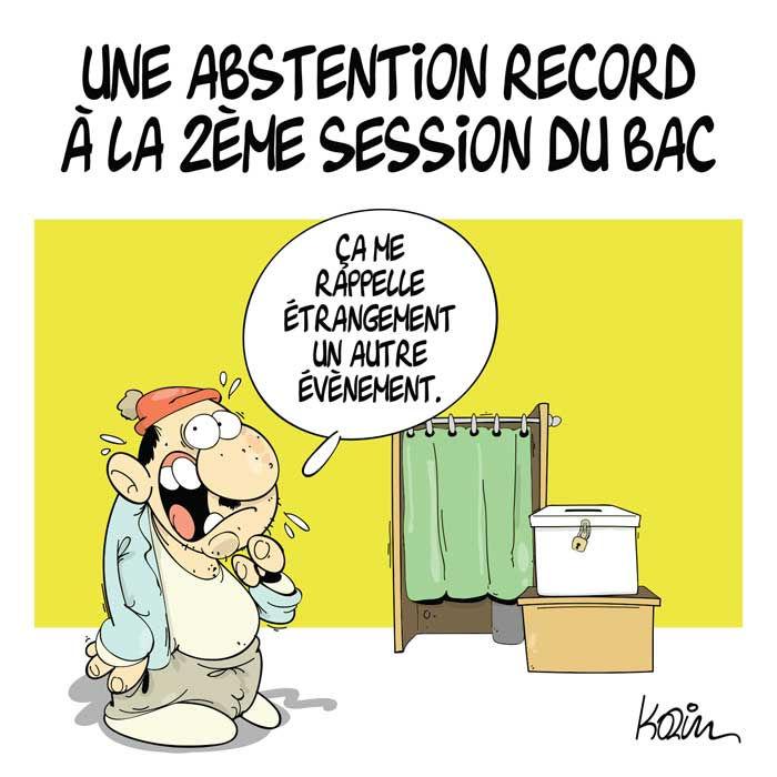 Une abstention record à la 2ème session du bac