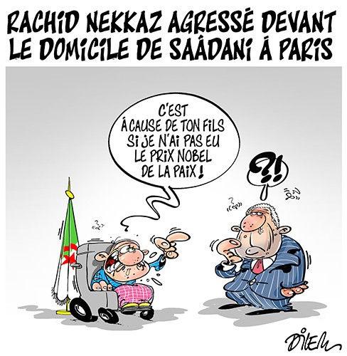 Rachid Nekkaz agressé devant le dominile de Saâdani à Paris