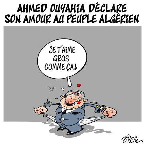 Ahmed Ouyahia déclare son amour au peuple algérien
